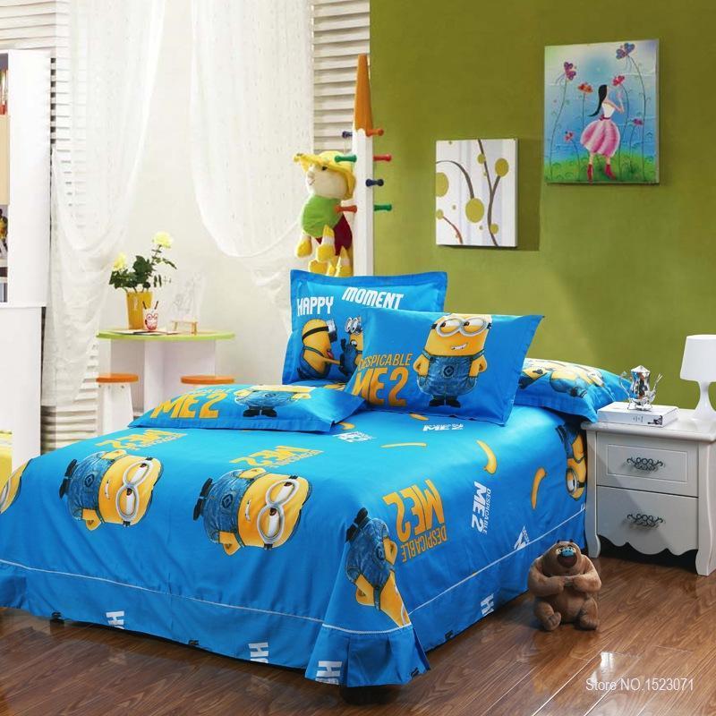 100-coton-minion-ensembles-de-literie-enfants-rose-couvre-lits-de-bande-dessin-e-housse-de-1.jpg